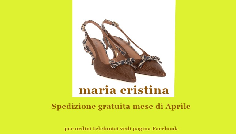 Maria Cristina Vendita online calzature ed accessori di lusso